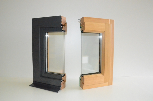 Porte d entr e les menuiseries duperron for Fenetre triple vitrage aluminium